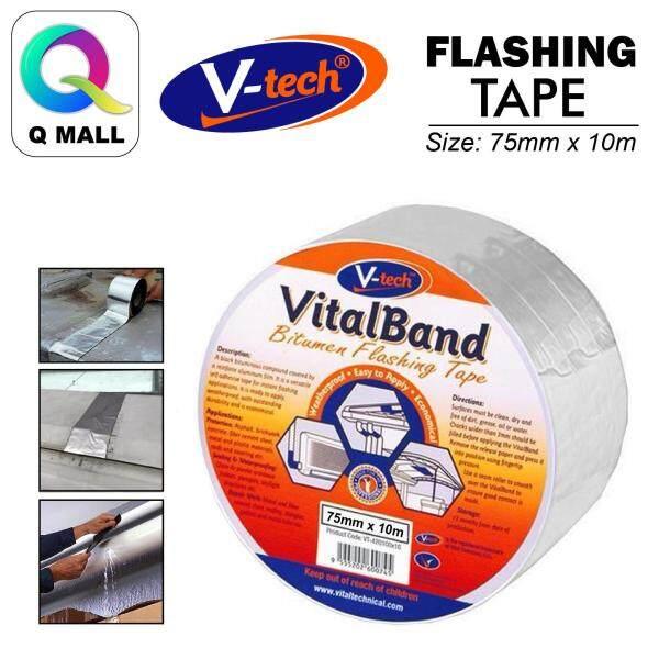 V-tech VT42075 Vitalband Bitumen Flashing Tape (75MM X 10M)