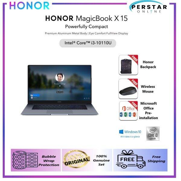 Ready Stock Honor MagicBook X15 i3 [8GB+256GB] | X15 i5 [8GB+512GB] - 100% Genuine 2 Years Warranty by Honor Malaysia Malaysia