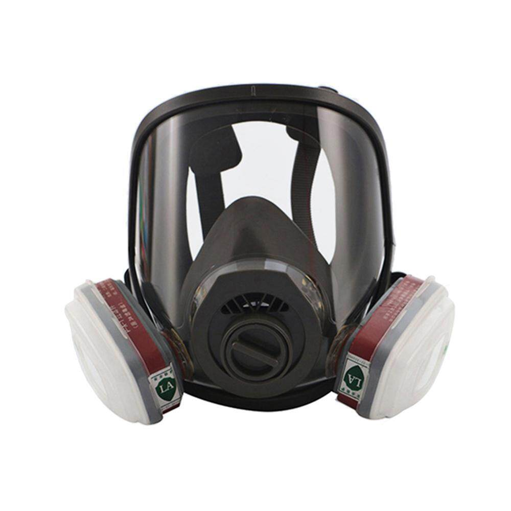 Bumblebaa Painting Spraying Full Face Gas Chemical Mask Respirator, Dust Mask, FDA Tested, Two Kinds Of Connectors, Good Tightness, Filters Included