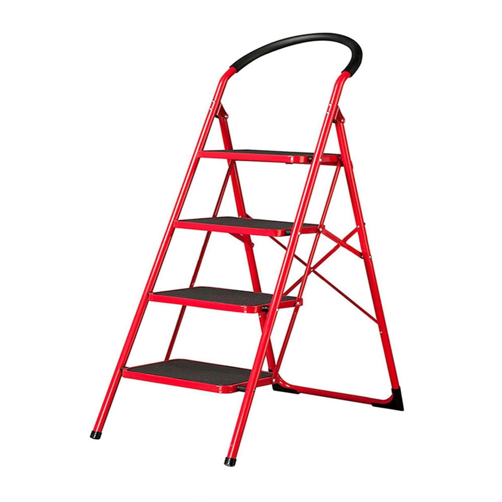 Heavy Duty Foldab Stool Ladder With Hand Grip [3 - 5 STEP] #OTH-1003