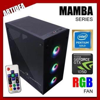 ARTIDEA 80G GHOST MAMBA INTEL PC ( G5400 / H310M MOBO / 8GB 2666MHz RAM / GTX 1050 2GB / 120GB SSD / FSP 500W BRONZE 80+ PSU )