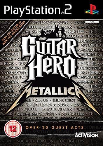 Ps2 Guitar Hero Metallica.