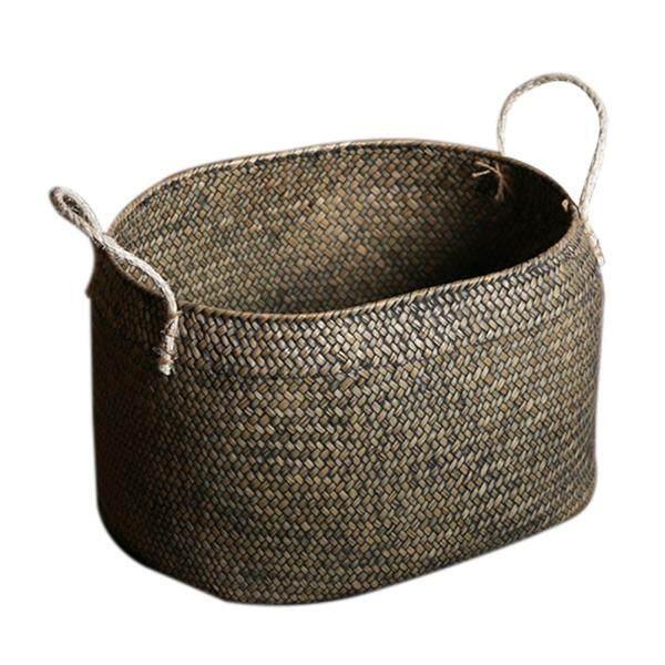 HLDB Storage Handle Basket Toy Storage Basket Plant Flowerpot Basket Fruit Vegetable Basket
