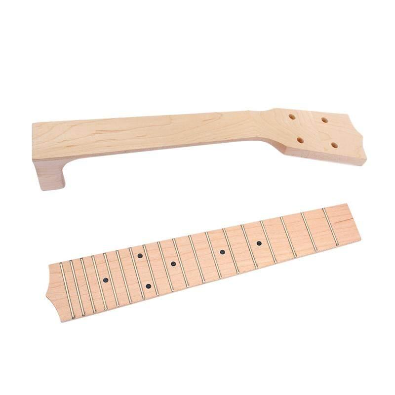 23 Inch Ukulele Neck Fingerboard Fretboard DIY for Soprano Concert Tenor Musical Instrument Accessories