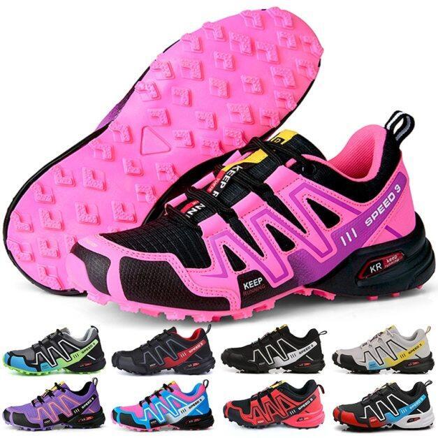 Giày Thể Thao MTB Đạp Xe, Giày Đi Bộ Đường Dài Cho Những Người Đam Mê Xe Đạp Nhẹ Nam Nữ Thoáng Khí Ngoài Trời Xuyên Quốc Gia giá rẻ