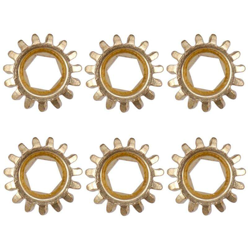 Baoblade 6 Pcs Guitar Parts Accessories Tuner Tuning Pegs Key Machine Heads Gear 1/15 Malaysia