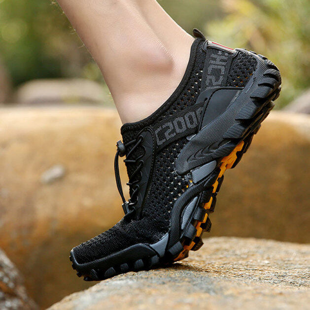 Giày Đi Bộ Đường Dài Cổ Thấp Cho Nam Nữ Giày Leo Núi Ngoài Trời Chống Trượt Chống Thấm Nước Bền giá rẻ