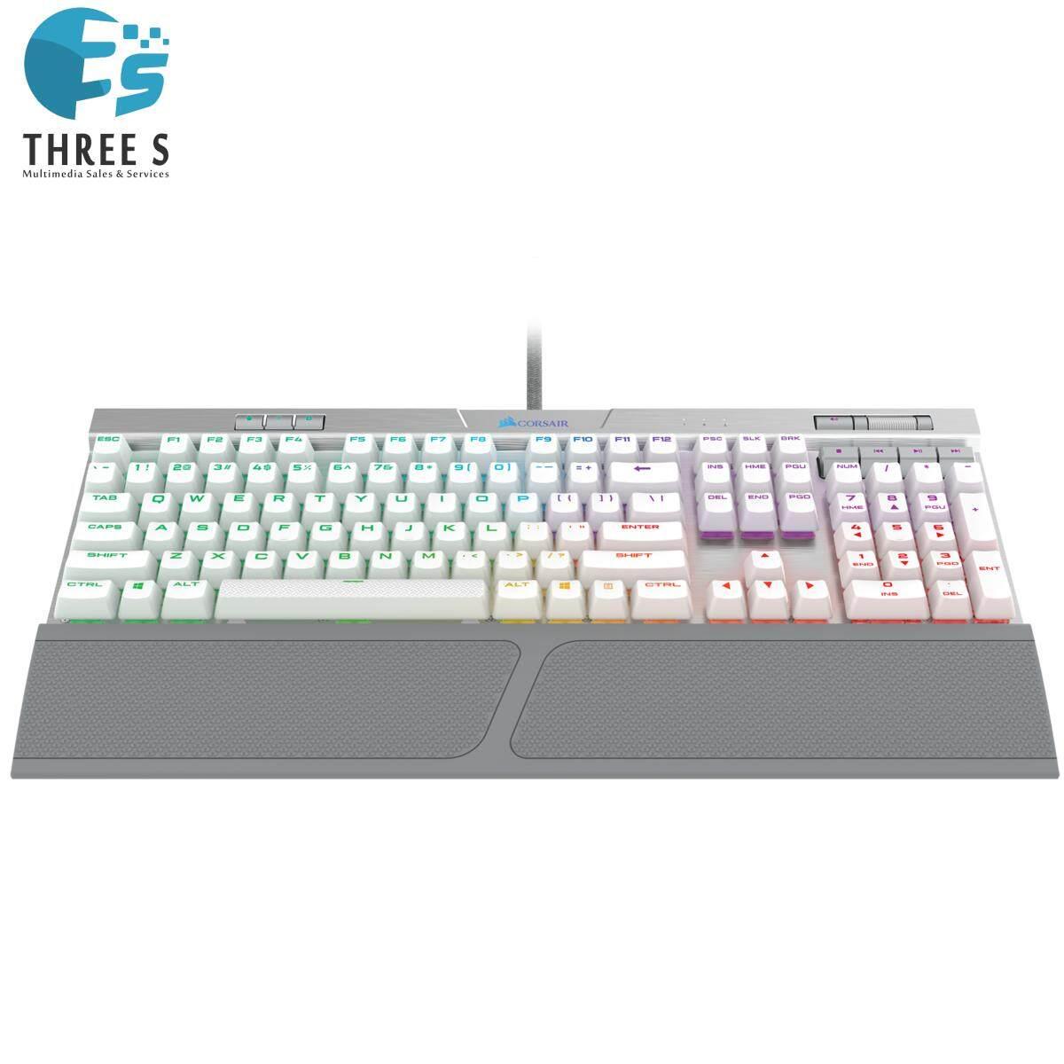 READY STOCK - CORSAIR K70 RGB MK.2 SE Mechanical Gaming Keyboard — CHERRY® MX Speed (ORIGINAL) Singapore