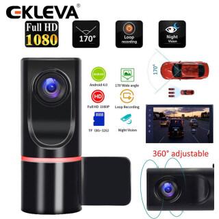 EKLEVA Camera Hành Trình ADAS 1080P Camera DVR Cho Xe Ô Tô Ghi Máy Ghi Hình Hành Trình Cho Android Đài Phát Thanh Xe Hơi USB Hỗ Trợ Thẻ TF, Phát Hiện Chuyển Động thumbnail
