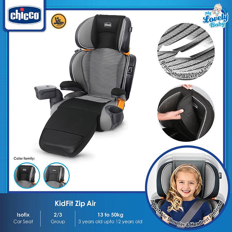 Chicco Kidfit Zip Air Plus Booster Seat - FREE Lifetime Warranty Crash Exchange Program - My Lovely Baby