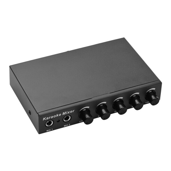 Microphone Audio Mixer for KTV/Meeting/Party/Outdoor Activities Compatible with Computer/Home Audio System/Speaker/Mobile Phone Malaysia