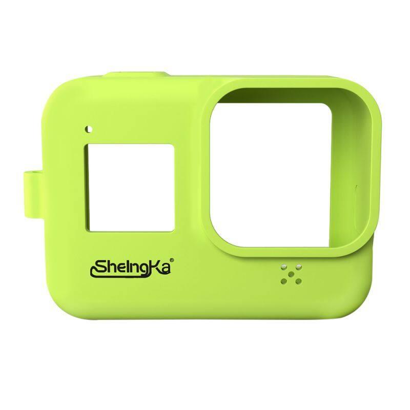 Giá Ốp Lưng Silicon Cho Gopro Hero 8 Đen Gopro8 GoPro 8 Phụ Kiện Chống Rơi Ốp Lưng Bảo Vệ Cơ Thể Sheingka Thương Hiệu