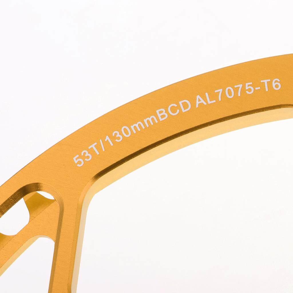 Leipupa ห่วงโซ่รถจักรยาน 130mm BCD ความเร็วสูง 45T 47T 53T 56T 58T ด้านหน้า Chainring -14/16/20In จักรยานแบบพับได้