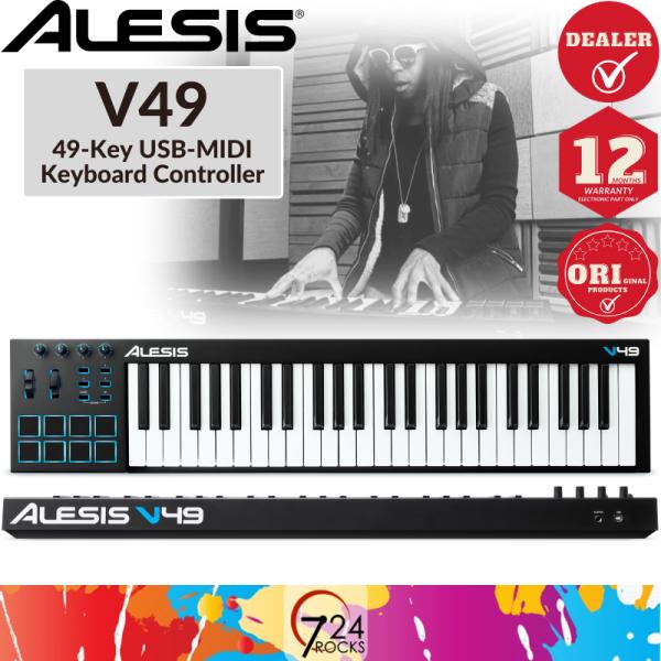 Alesis V49 49-key Keyboard Controller / USB MIDI Controller Malaysia