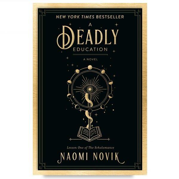 [ BOOKURVE ] A Deadly Education By Naomi Novik - ISBN 9780593128503 (Paperback) Malaysia