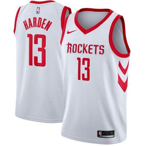the best attitude 71688 0580d NBA Men's Houston Rockets James Harden #13 Red Swingman Basketball Jersey  City Edition S-2XL Professional