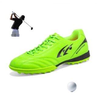 Giày Chơi Gôn YuChuan, Spikeless Mens Không Thấm Nước Bên Ngoài Thoải Mái Golf Sneakers, Giày Tập Thể Thao Nam Giày Đi Bộ Cỏ Thể Thao Cho Bé Trai thumbnail