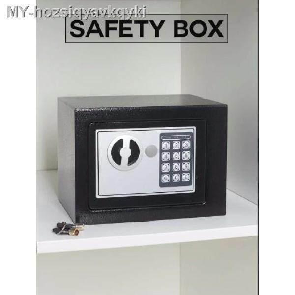 Metal Safety Box Home Office Hotel Safe Box Peti Keselamatan
