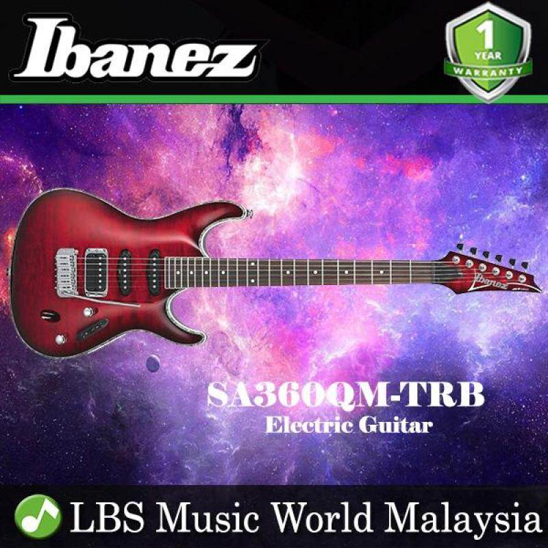 Ibanez SA360QM-TRB Transparent Red Burst Electric Guitar (SA360QM) Malaysia