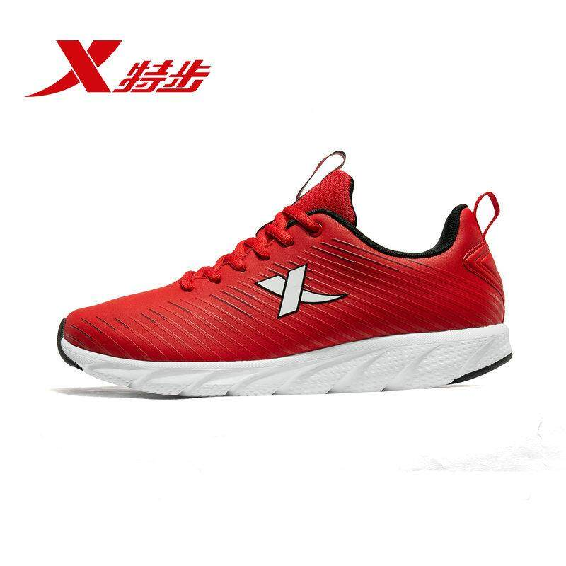 182e68ffa85 881119119360 xtep 2019 man running shoe black color waterproof PU Synthetic  leather shoe for men running
