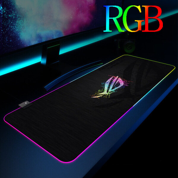 ASUS Gaming RGB mouse Pad Large RGB mouse Pad Gamer Big RGB mouse Mat Computer RGB mousepad XL Surface Mause Pad Keyboard Desk Mat For CS GO Mat