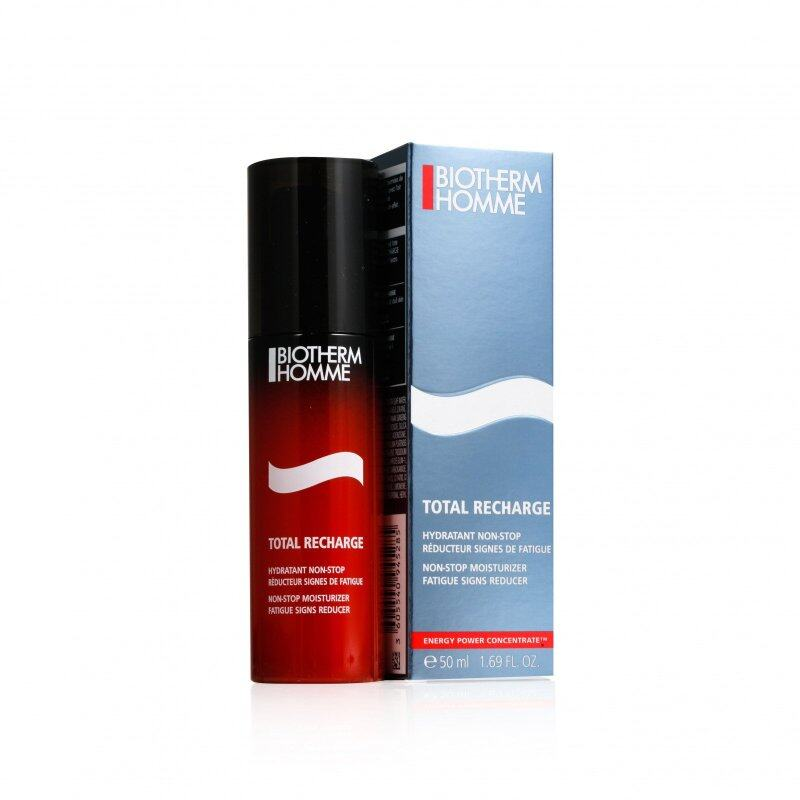 Buy Biotherm Homme Total Recharge Non-Stop Moisturizer Fatigue Signs Reducer 50ml Singapore