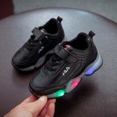 Giày Trẻ Em Agbaby Giày Trẻ Em Đèn LED Giày Trẻ Em Giản Dị