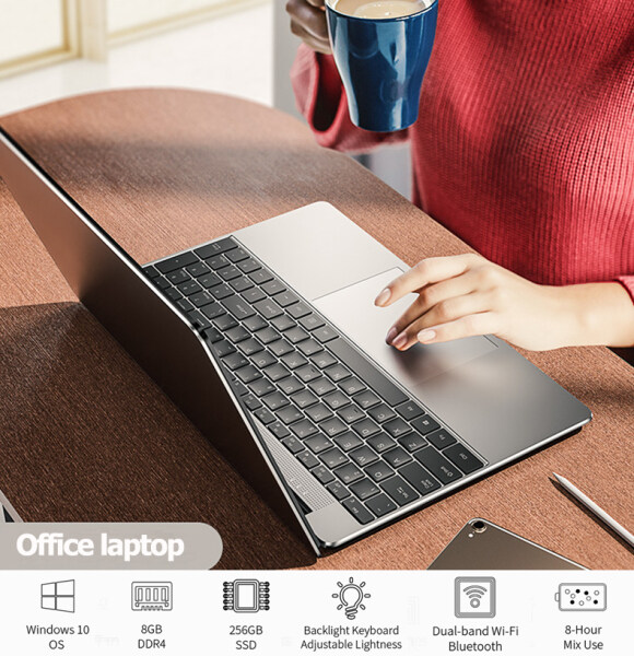 2020 new laptop student offer W10 system Intel Core i7 CPU 1920x1080 DDR4 8 GB RAM 256 GB SSD laptop one-year warranty Intel UHD GRAPHICS Malaysia