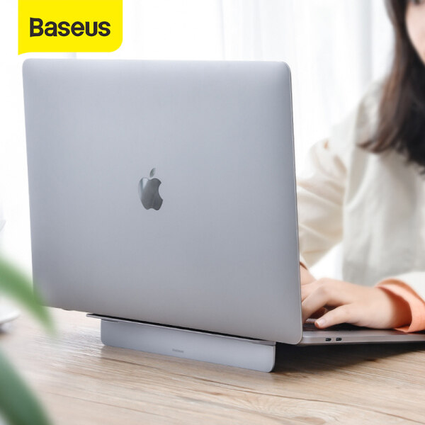 Baseus Adjustable Foldable Alloy Laptop Stand Desktop Notebook Holder Desk Laptop Stand For 12-17 inch Macbook Pro Air