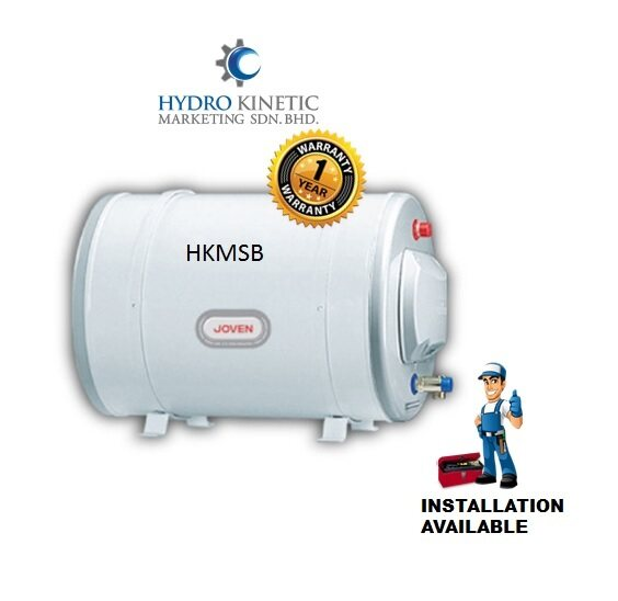 Joven JH-35(IB) 35L Horizontal Storage Water Heater with Isolator Barrier