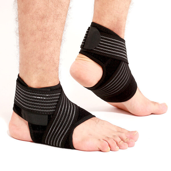 iHOME LIFE Ankle Support Braces 2 Pcs Adjustable Ankle Corrector Pads Protection Ankle Protect Foot Sprain Prevention Breathable Running Splint Strap Injury Brace Pad Pain Support Elastic Sports Guard On Sale