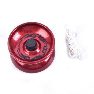 FOO 1Pc Chuỗi Hợp Kim Nhôm YoYo Chuyên Nghiệp Vòng Bi Yo-yo Đồ Chơi Thú Vị thumbnail