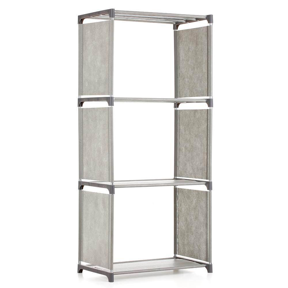 4-Shelf Bookcase Book Shelves Bookshelf Storage Bin Books Display Shelving Unit Organizer By Haitao.
