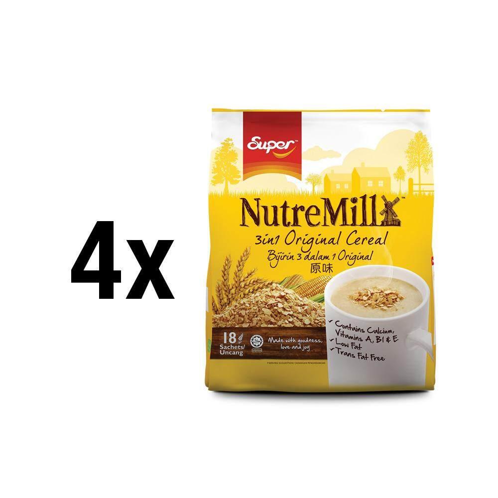 [bundle Of 4]    Céréale originale Super Nutremill 3en1 dans la boutique officielle Super.