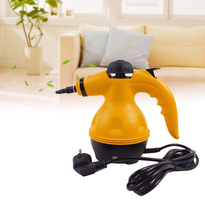 Wond Electric Steam Cleaner Portable Handheld Steamer Household Cleaner Tool Yellow & Black Eu Plug By Wonderfancy.