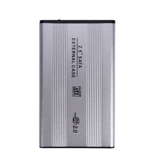 Hộp Đựng Ổ Đĩa Cứng Di Động Gắn Ngoài SATA 3.0 Inch SSD USB 2.0 2.5 Kim Loại thumbnail