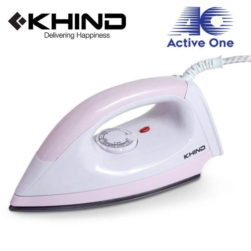 KHIND Electric Iron Light Weight Non-Stick Soleplate (EI402) - Fulfilled by ACTIVEONE