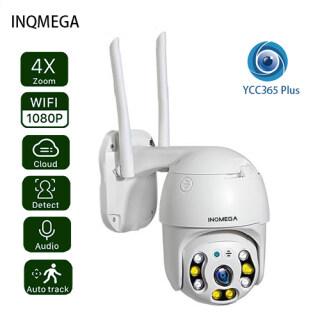 INQMEGA Camera IP Vòm Tốc Độ PTZ Camera Giám Sát An Ninh CCTV Không Dây Ngoài Trời WiFi 1080P 2MP ONVIF IR YCC365 Plus thumbnail