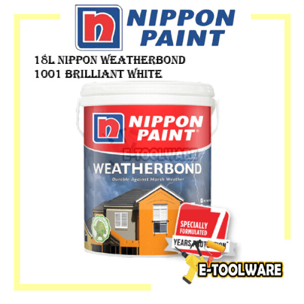 18L Nippon Weatherbond 1001 Brilliant White