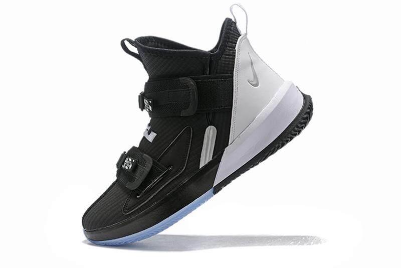Penjualan Terlaris Nike_LEBRON 13 Rank And File Tentara Pria Sepatu Basket Berongga Ringan Kasual Olahraga Sepatu Sneaker Empuk Zoom Air Tanda Tangan Kenyamanan Ukuran 40-46