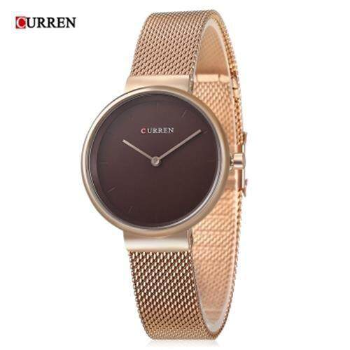 CURREN 9016 WOMEN QUARTZ WATCH (ROSE GOLD) Malaysia