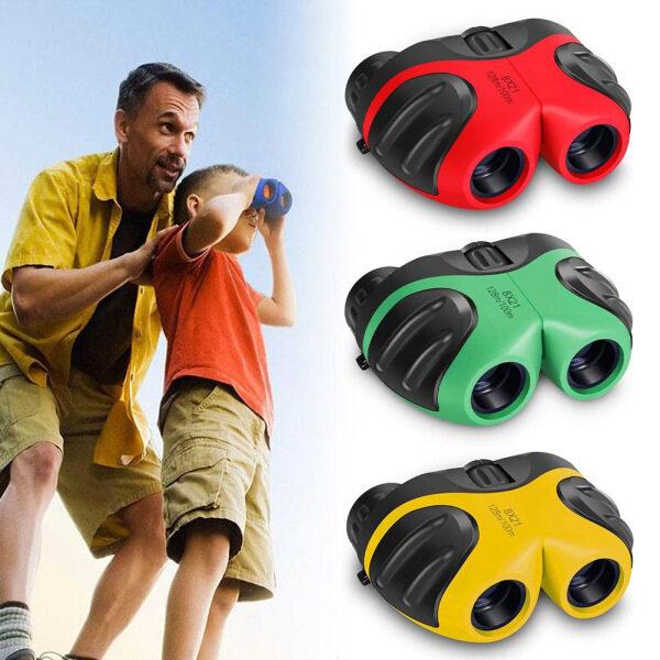MSRC Purple Blue 8X21 Gift For Kids High Quality For Children Binoculars Pocket Rubber Telescope Rubber Telescope