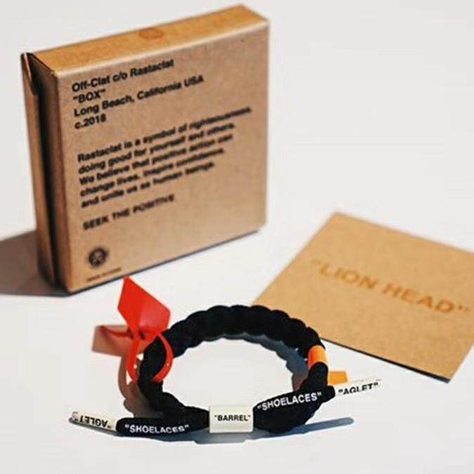 Off-White Rastaclat Off Clat Bracelet By Therepstore66.