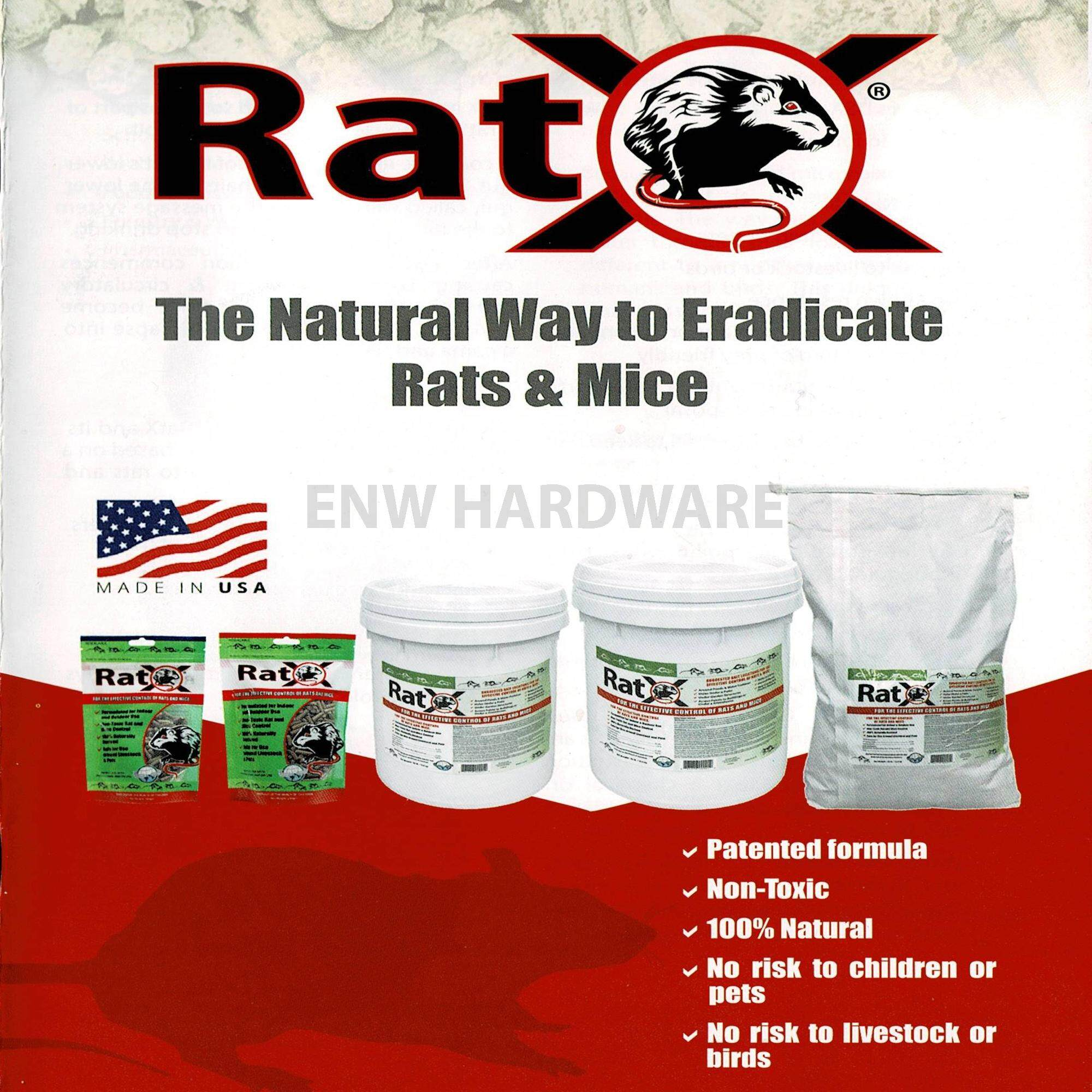 RatX Rodent Bait 100gm - Non-toxic