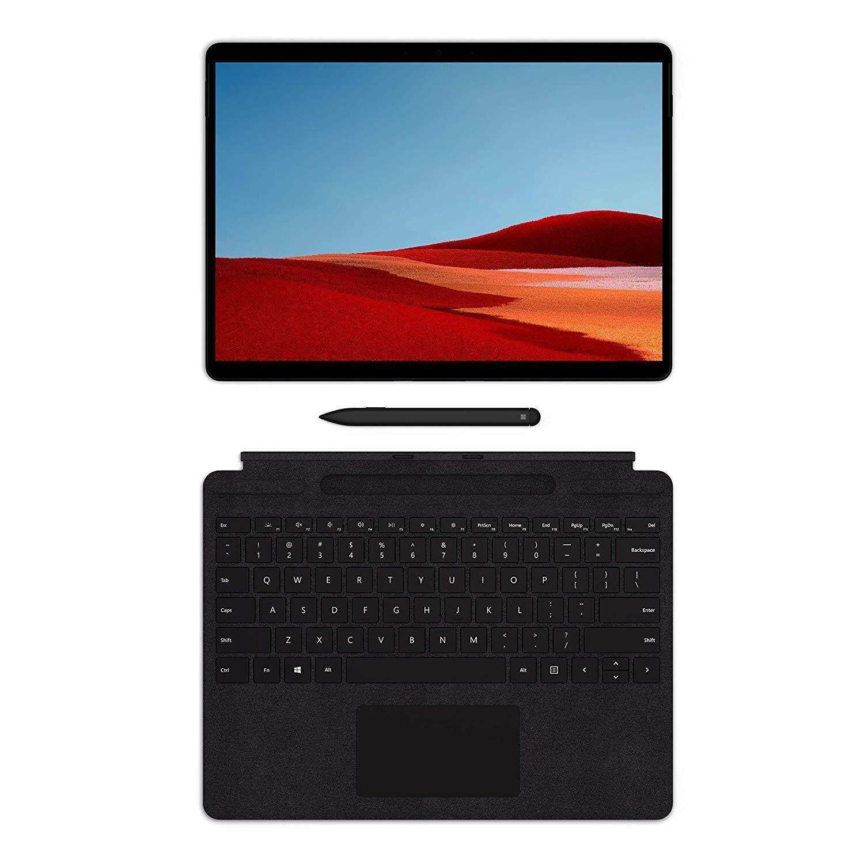 NEW Microsoft Surface Pro X – 13  Touch-Screen – Microsoft SQ1 - 16GB Memory - 512GB Solid State Drive – WiFi + 4G LTE – Matte Black Malaysia