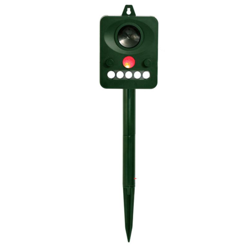 Ultrasonic Repellent Bird Repellent Outdoor Camping Animal Repellent Garden Outdoor Deworming Infrared Light Flashing Sound And Light Bird Repellent