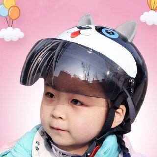 Mũ Bảo Hiểm Trẻ Em Đi Xe Máy, Chàng Trai Cô Gái Trẻ Em Phổ Dễ Thương Đi Xe Đạp Scooter An Toàn Đầu Hat Bé Phim Hoạt Hình Xe Đạp Đội Mũ Bảo Hiểm thumbnail
