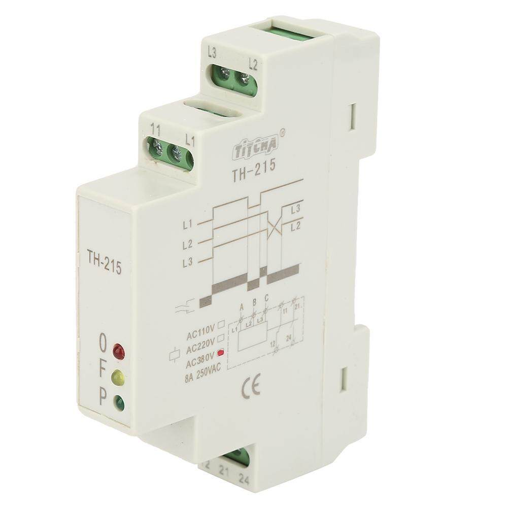 Qianmei 380V TH-215 Three Phase Sequence Control Relays Voltage Monitor Power Protection Relay