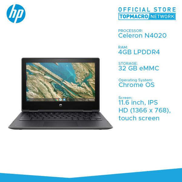 HP CHROMEBOOK X360 11 G3 (CELERON N4020, 4GB, 32GB EMMC, 11.6 TOUCH, CHROMEOS) [FREE WIRELESS MOUSE] Malaysia