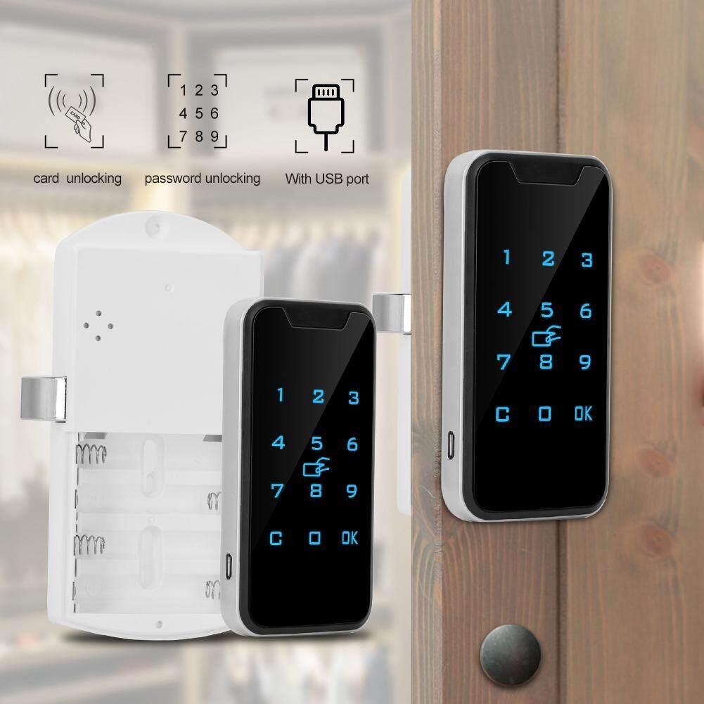 Qianmei Thông Minh Kỹ Thuật Số mật khẩu RFID Khóa Bàn Phím Cảm Ứng Điện Tử Tủ Quần Áo tủ giữ hồ sơ Khóa